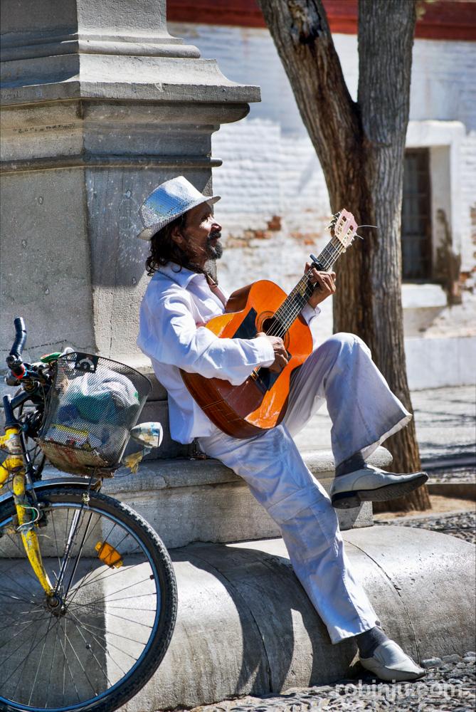Soñando ser Camarón en el Mirador de San Nicolás, Granada