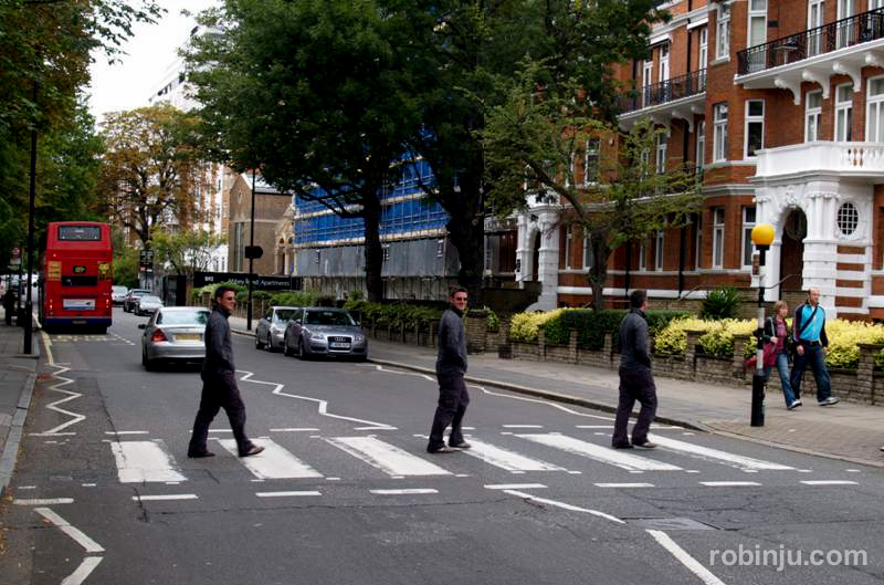 paso de peatones en abbey road