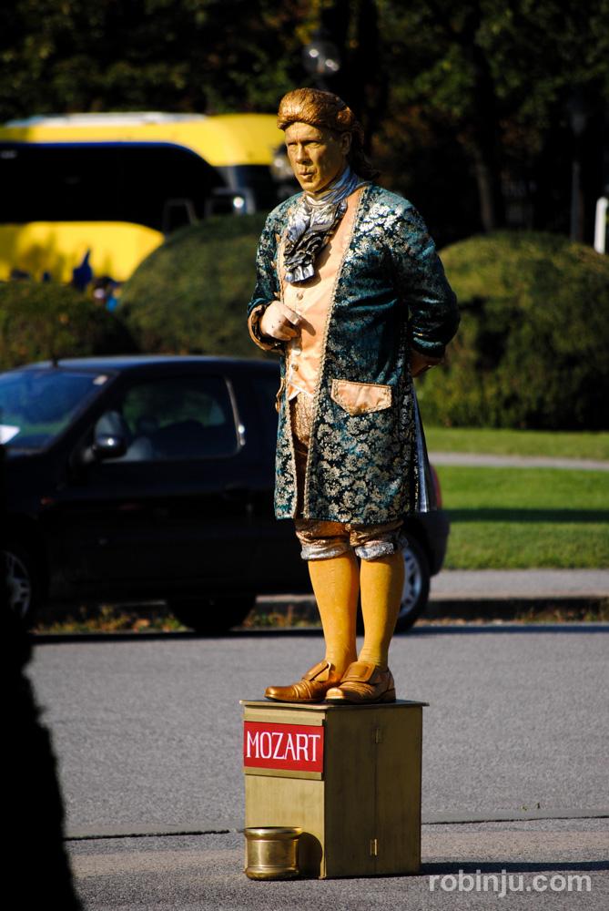 En Viena, Mozart está vivo...