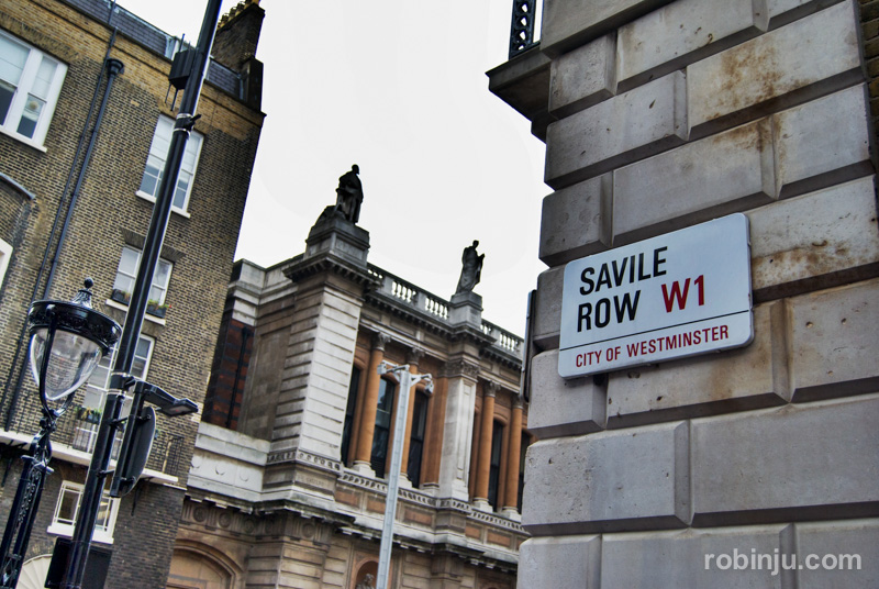 3 savile row londres