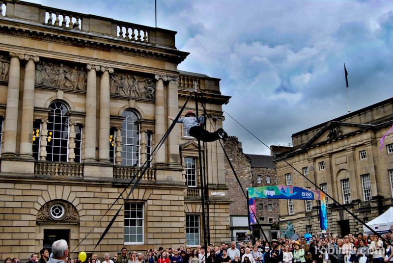 Edimburgo es un festival