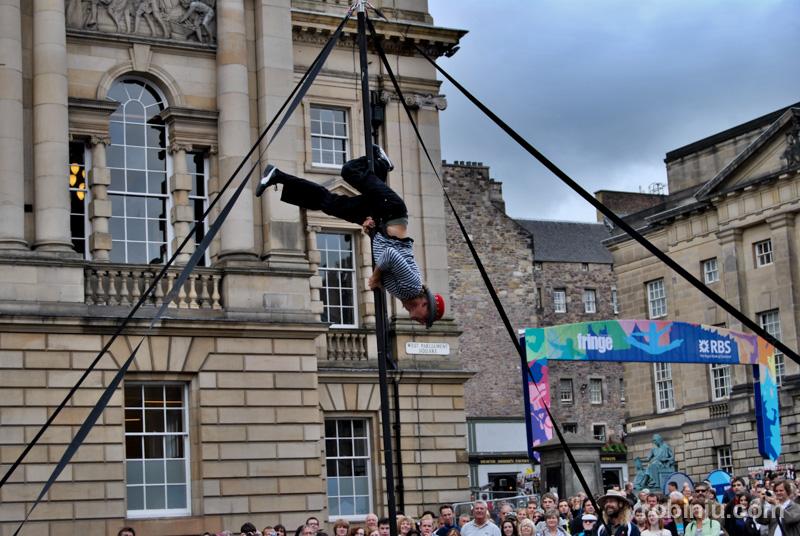 Fringe Edimburgo es un festival