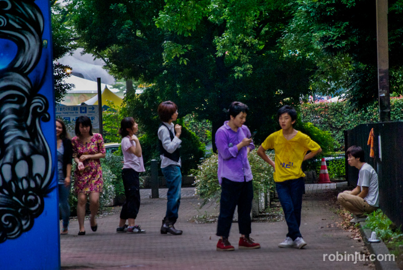 ParqueYoyogi Tokio