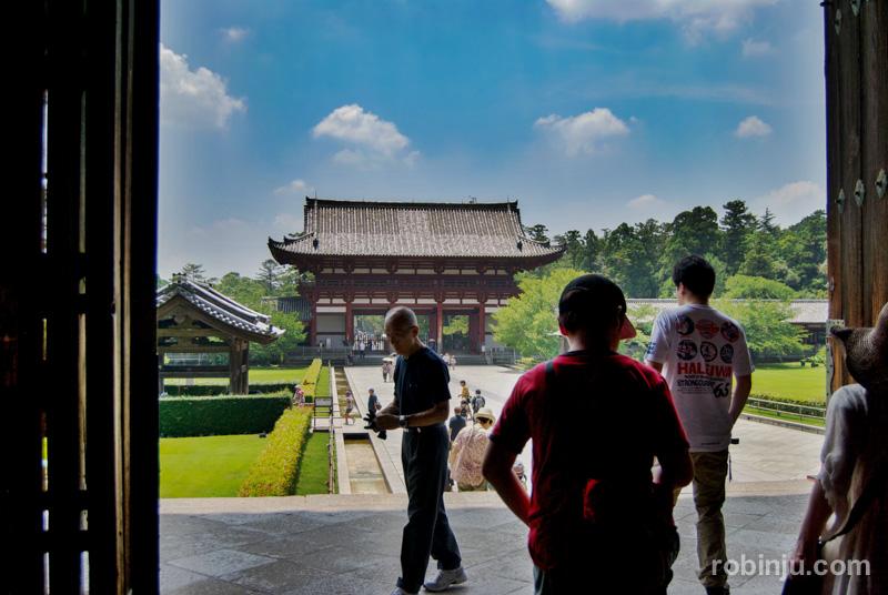 Todaiji temple Nara
