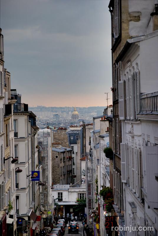 Atardecer en Montmartre 03