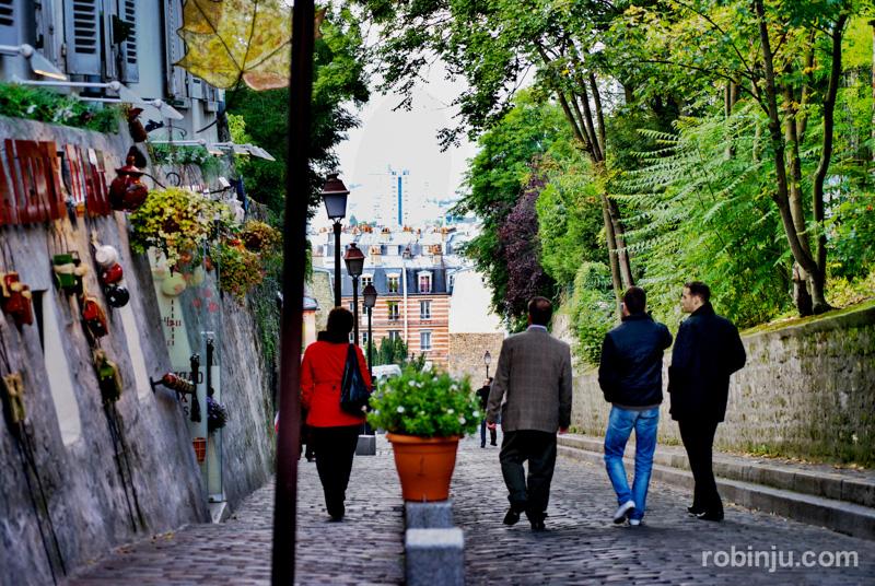 Atardecer en Montmartre 04