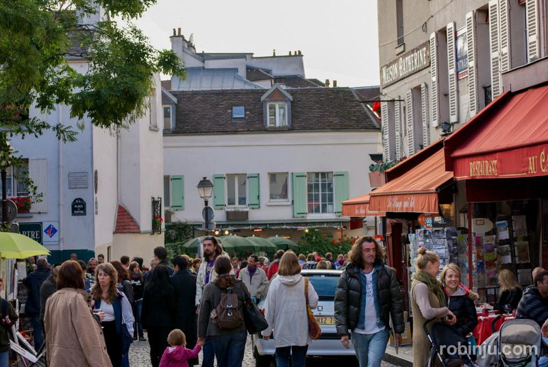 plaza de los pintores, place du tertre, Paris