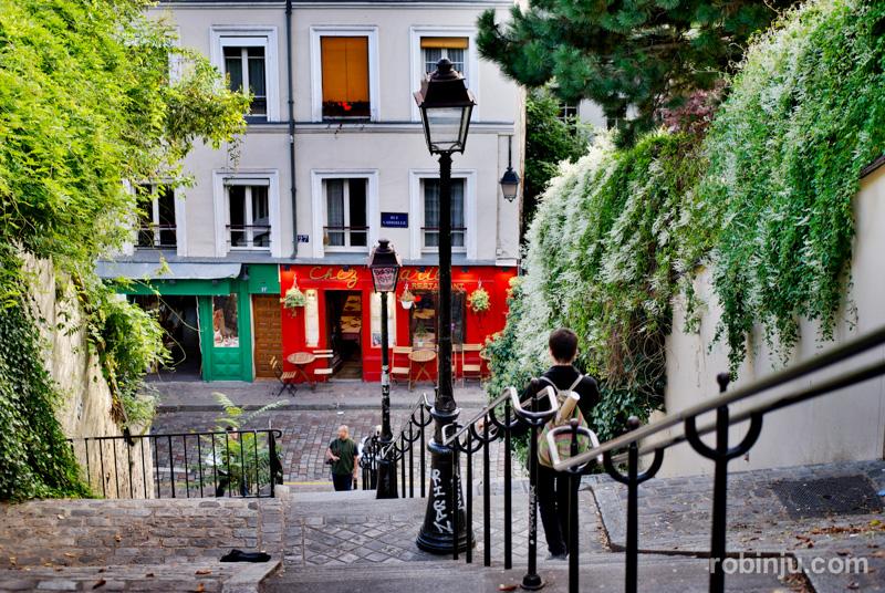 Atardecer en Montmartre 07