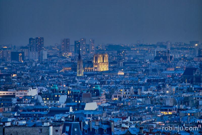Atardecer París
