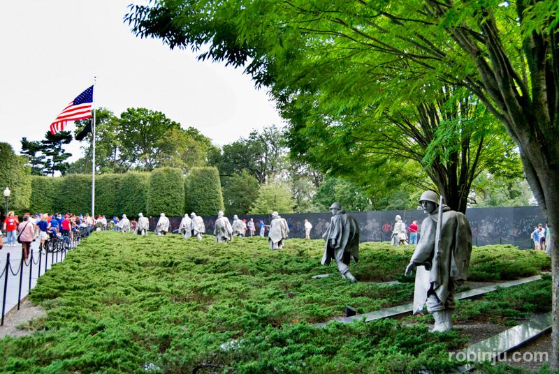 Korean War Veterans Memorial 01