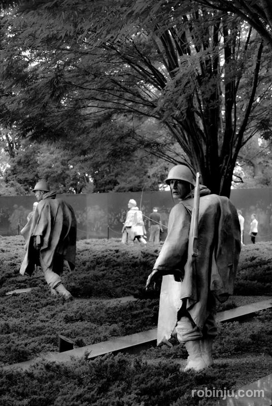 Korean War Veterans Memorial 02