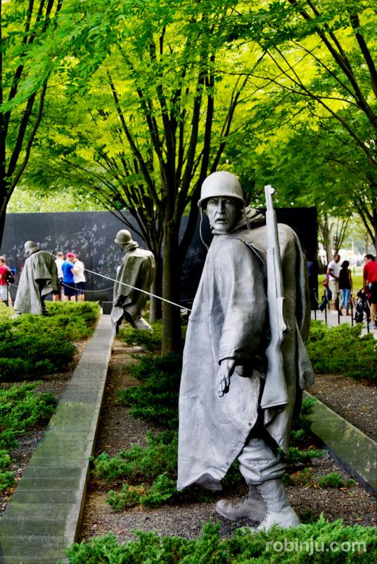 Korean War Veterans Memorial 03