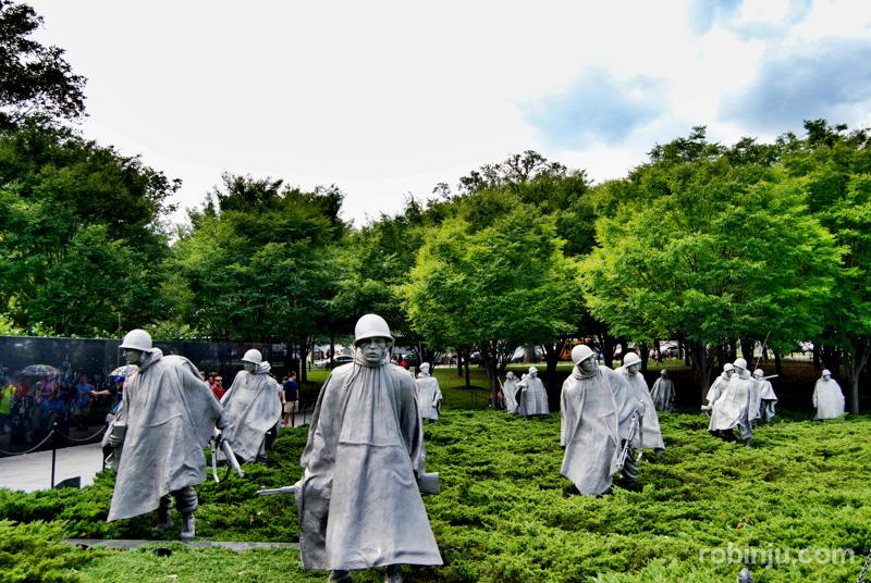 Korean War Veterans Memorial 04