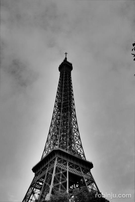 París desde la torre Eiffel