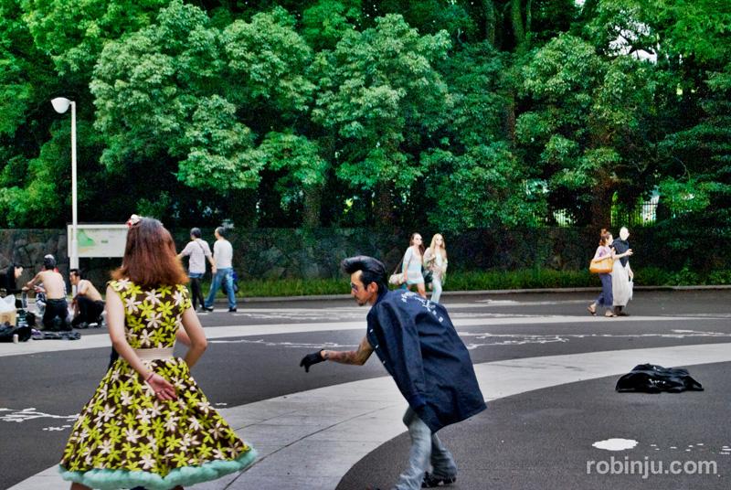 Yoyogi Park rock 04
