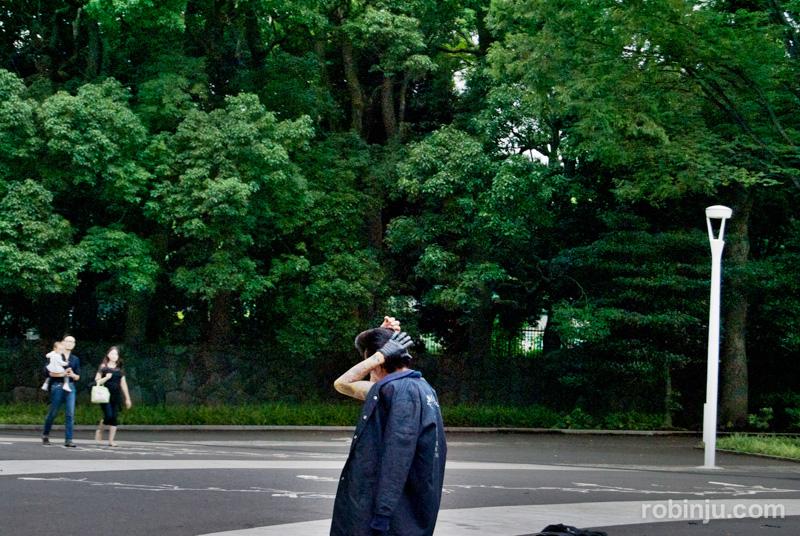 Yoyogi Park rock 05