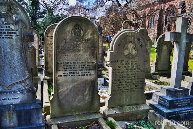 La tumba de Eleanor Rigby