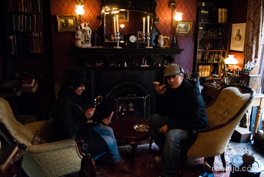 Sherlock holmes, 221B Baker Street
