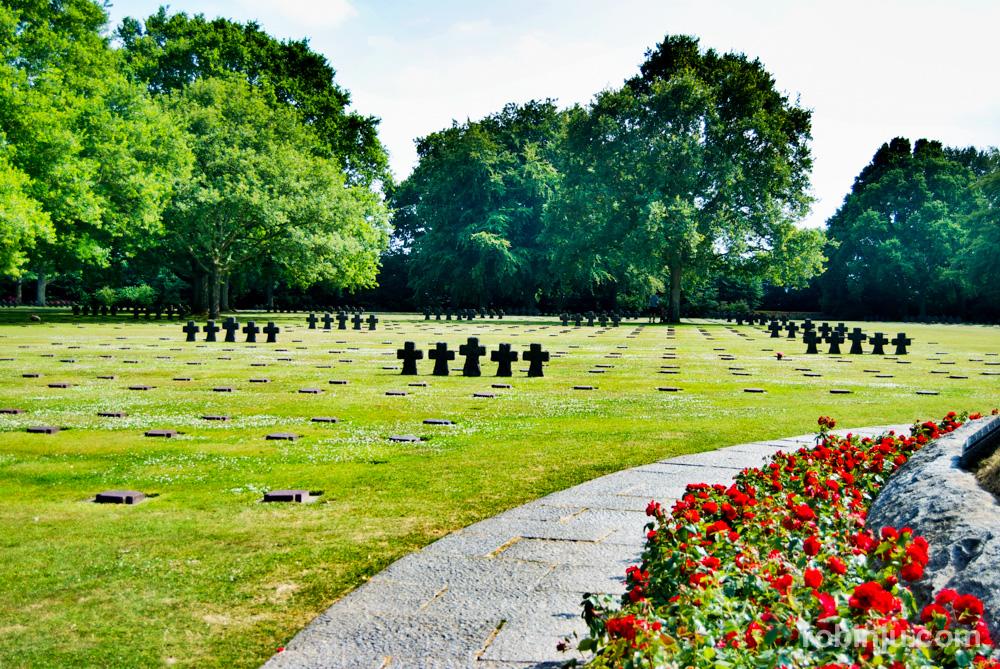 Cementerio alemán de Normandia