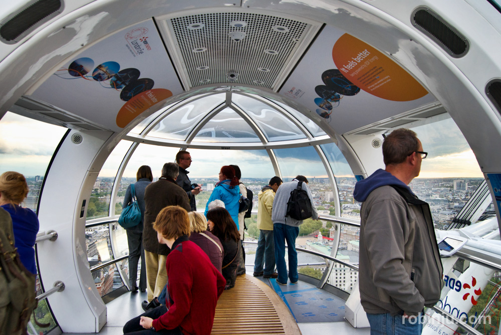 Londres desde el London Eye