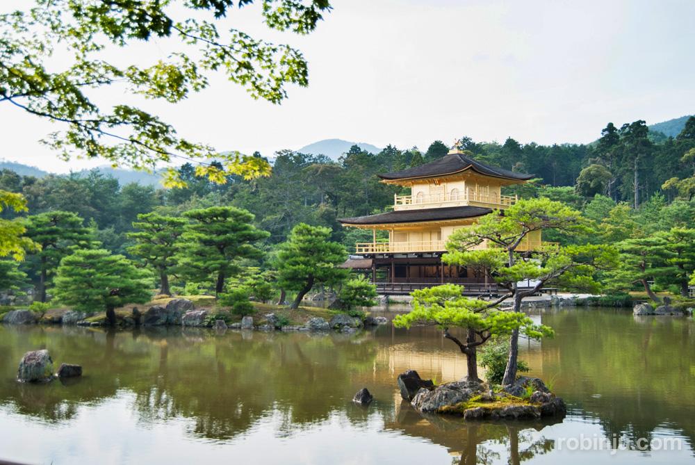 Kinkaku-Ji, el templo del pabellón dorado