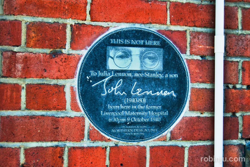 Lennon en Liverpool