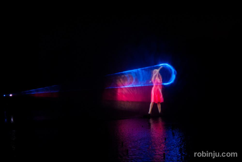 El espectáculo nocturno de Futuroscope