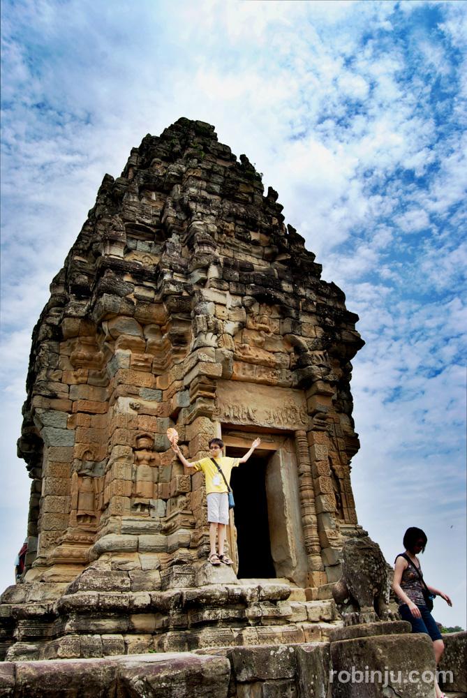 Bakong, el primer templo montaña de Angkor