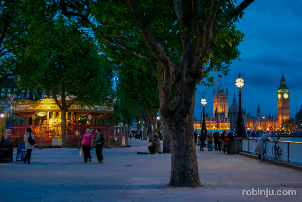 El South Bank de Londres.