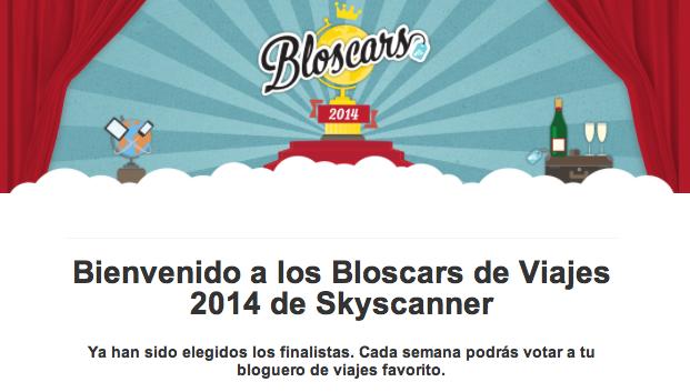 Bloscars de Viajes 2014 de Skyscanner