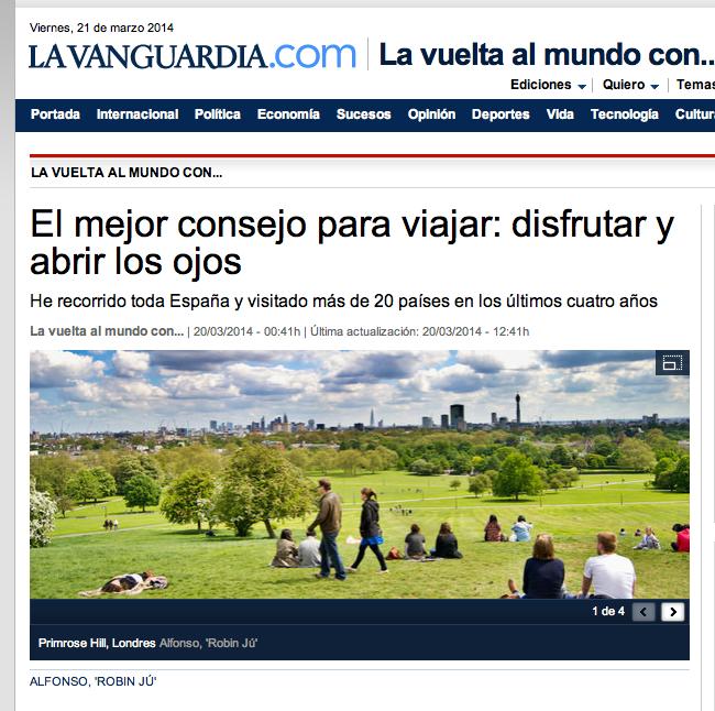 La vuelta al mundo - La Vanguardia