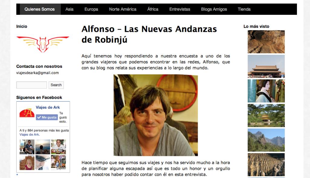 Alfonso – Las Nuevas Andanzas de Robinjú