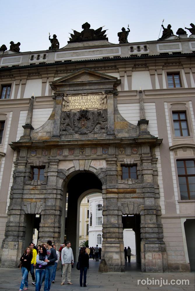 Castillo de Praga. Catedral de San Vito.