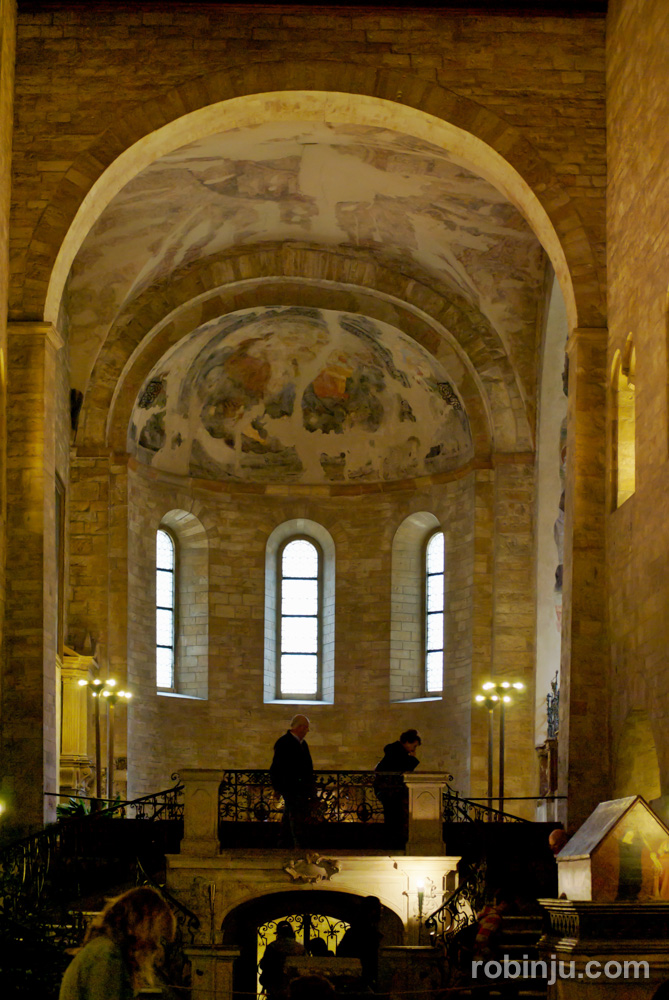 Castillo de Praga. Basílica de San Jorge.