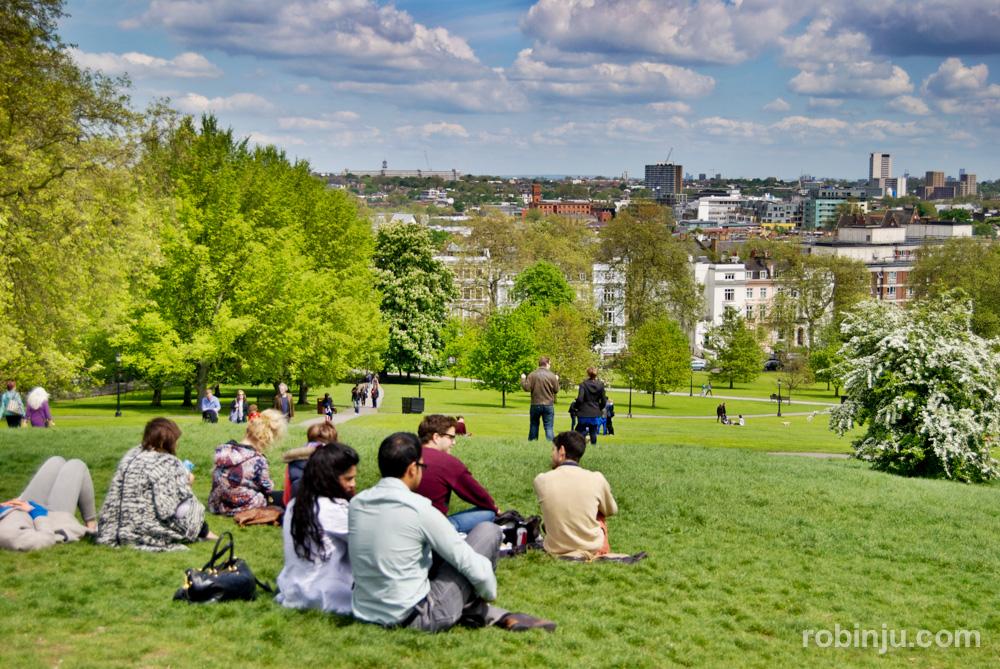 Primrose Hill, el mirador de Londres