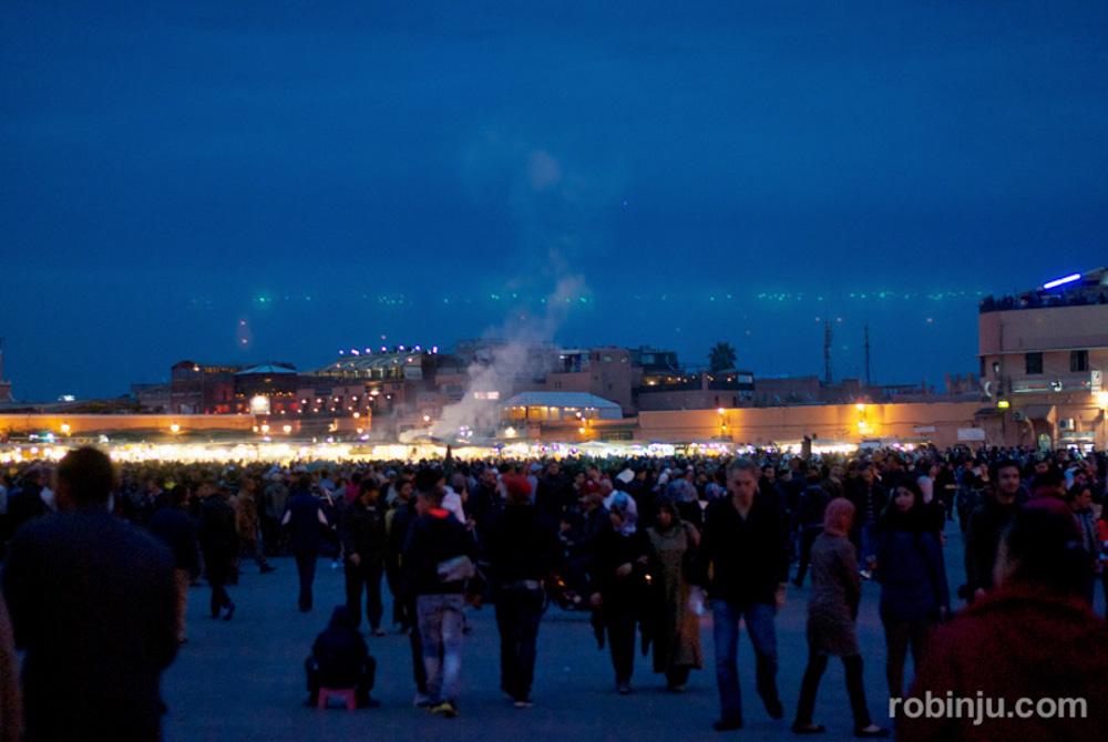 """Resumen 2013 de """"las nuevas andanzas de Robin Jú""""Marrakech."""