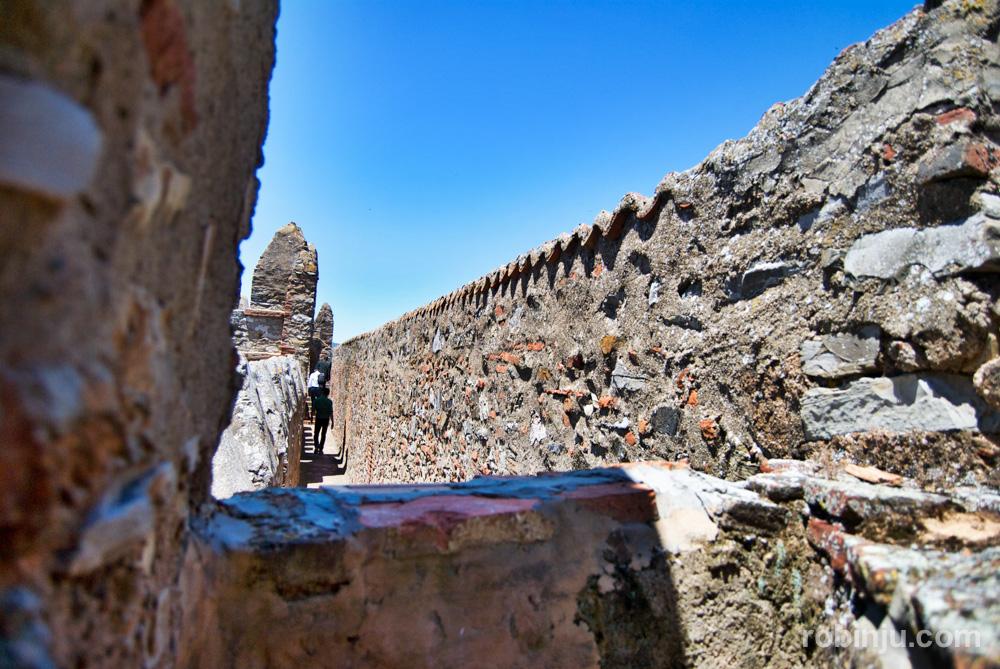 Visitando el parador de Zafra, un castillo con vistas