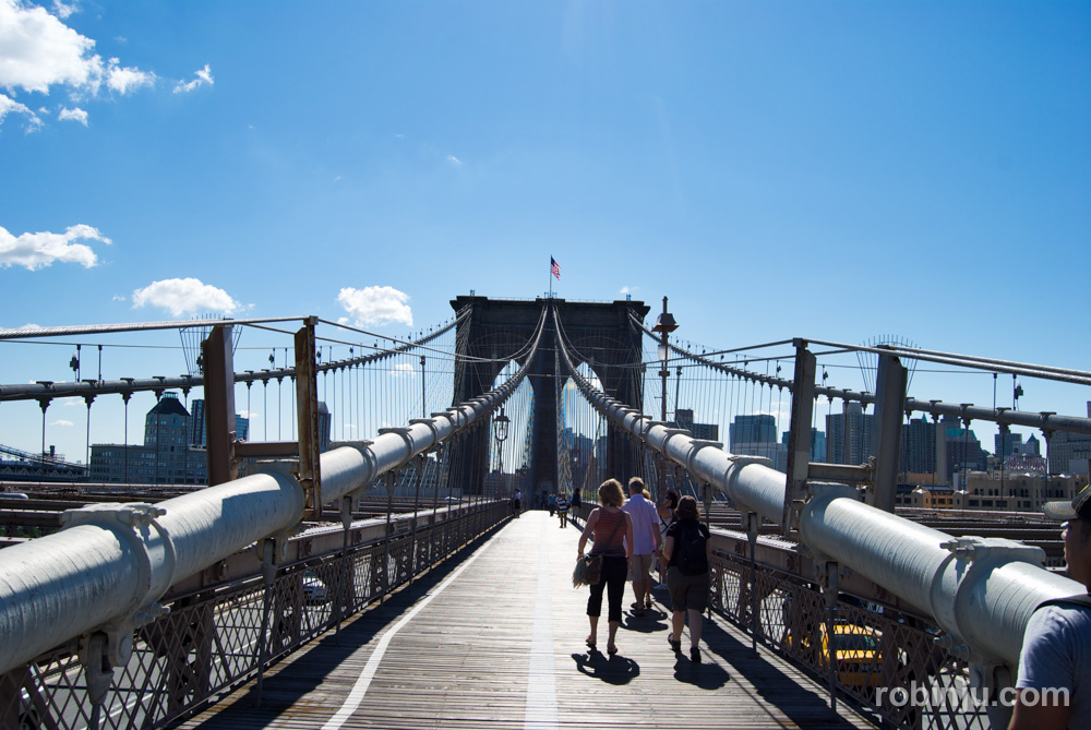 Puente de Brooklyn, Nueva York