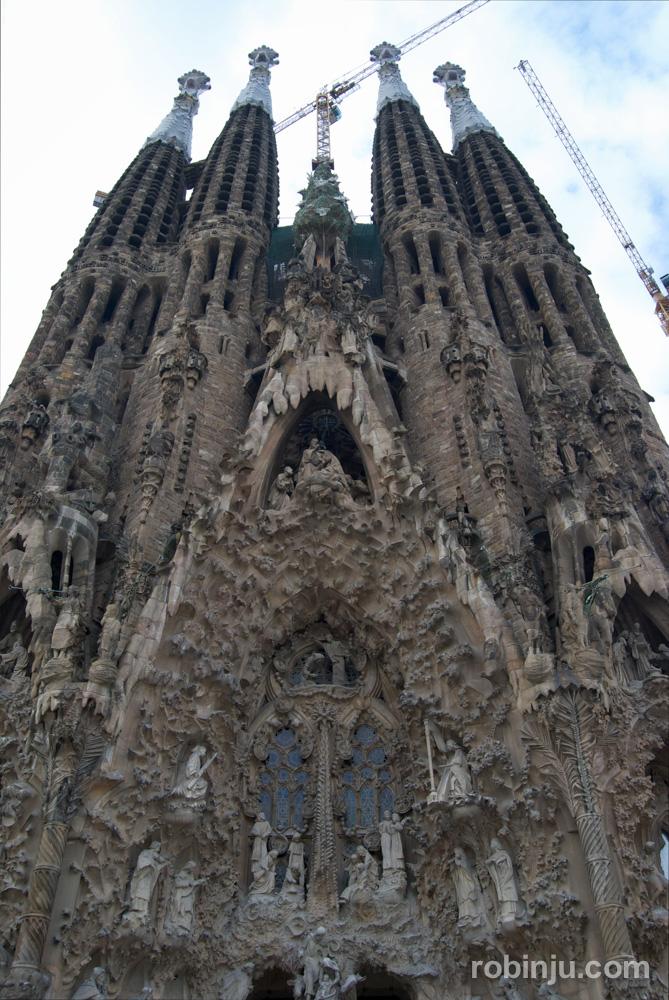 La Sagrada Familia, la basílica que hizo soñar a Gaudí en Barcelona