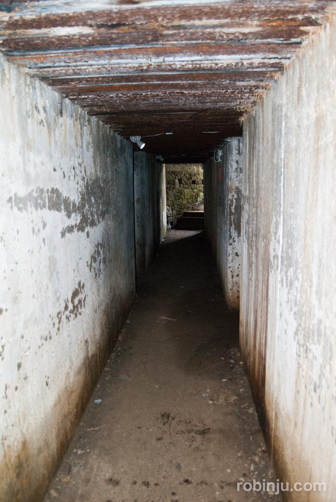 Maisy Battery Museum. el bunker defensivo alemán del desembarco