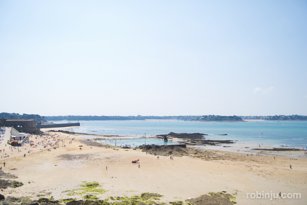 Saint Malo es Cádiz en la Bretaña