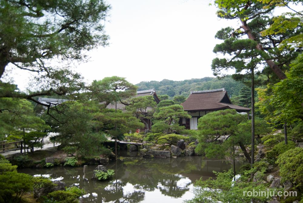 Ginkaku-ji, el templo del pabellón de plata