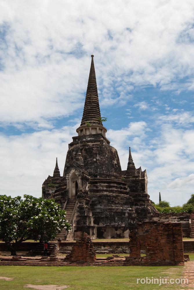 Visitando Ayutthaya: Wat Phra Sri Sanphet