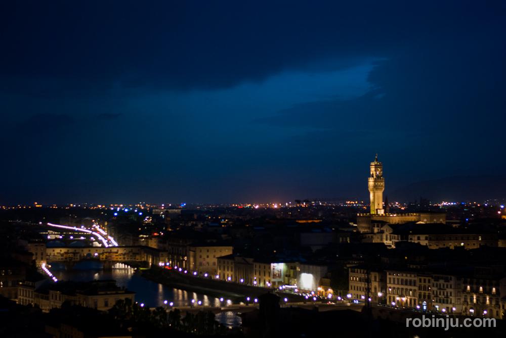 Ver atardecer en Florencia desde la Piazzale Michelangelo