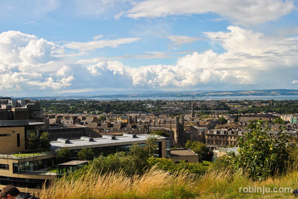 Calton Hill, el primer parque público de Edimburgo