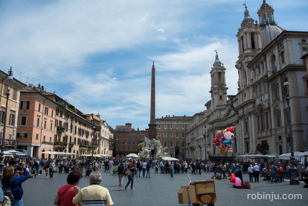 Piazza Navona, una joya barroca en Roma