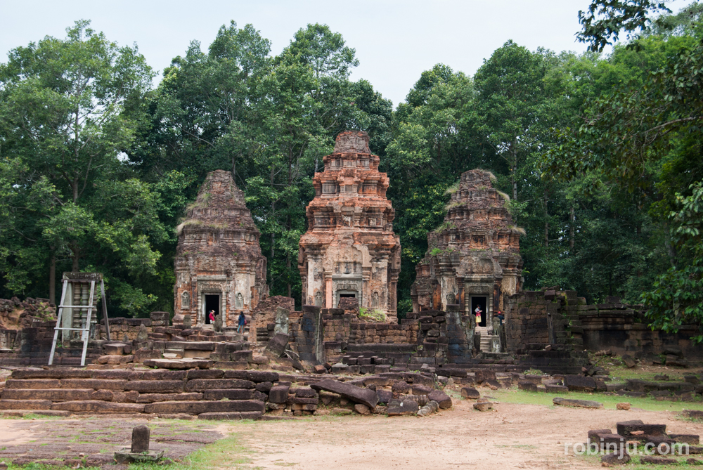 Preah Ko, el primer templo de Hariharalaya