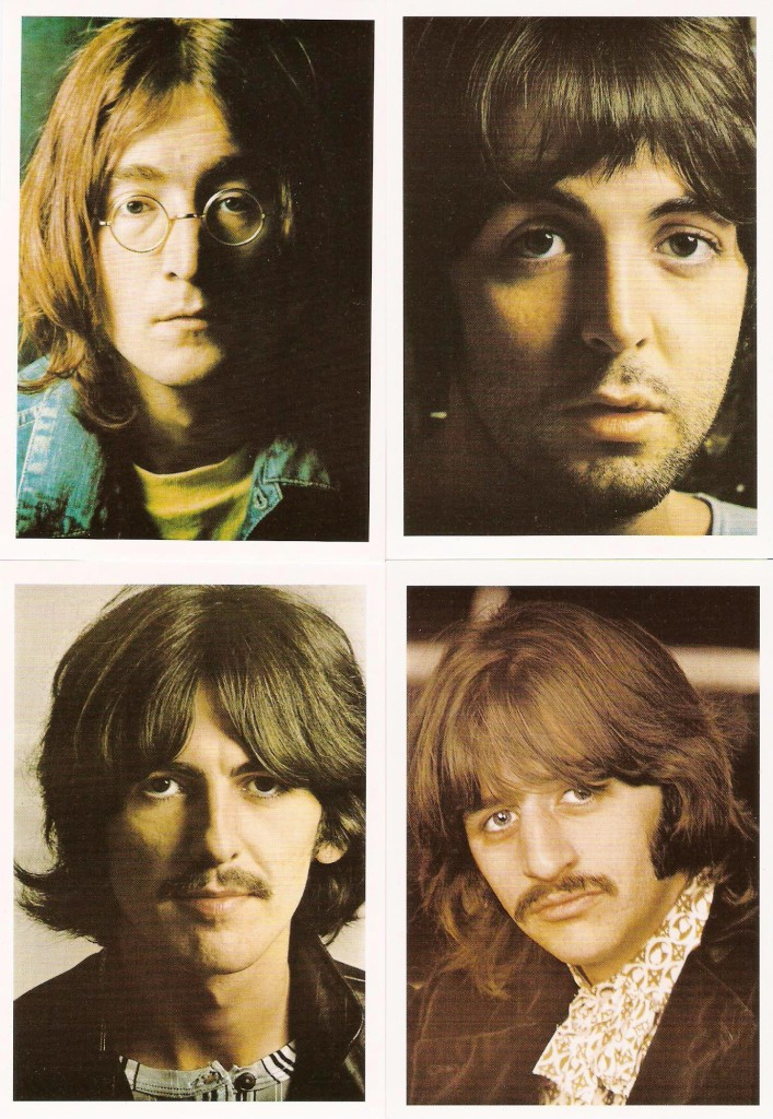 The Beatles. Portada interior de The Beatles (White Album)
