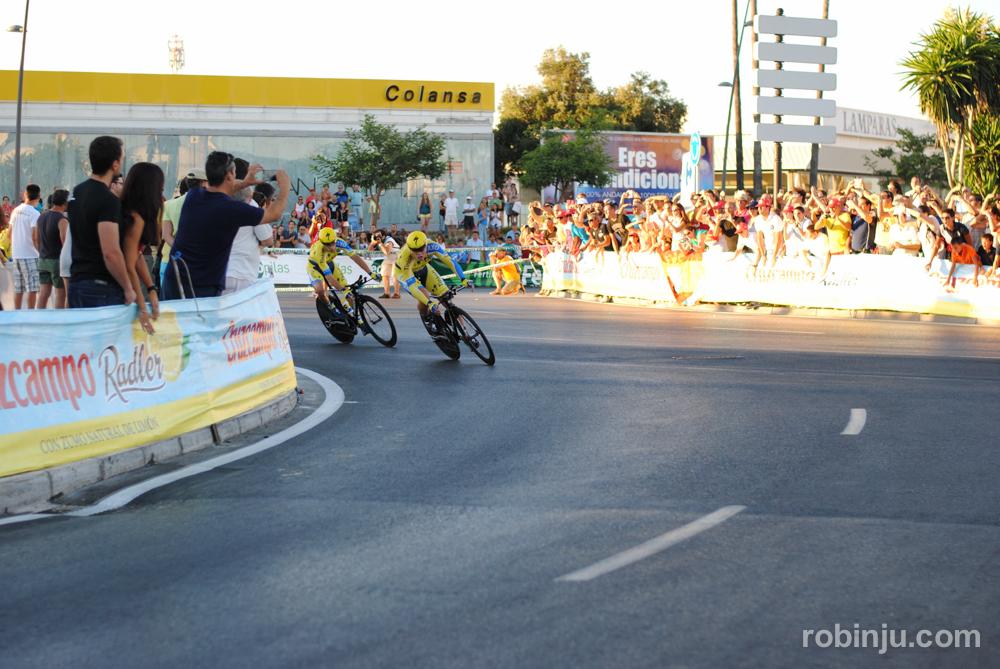 Que viene el Saxo (Vuelta a España - Jerez de la Frontera)