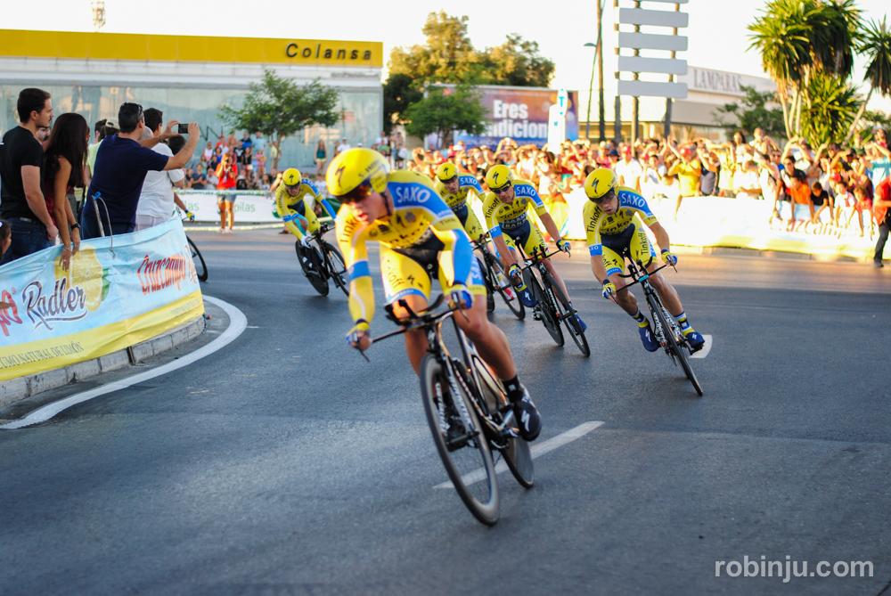 Emocionante  (Vuelta a España - Jerez de la Frontera)